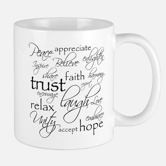 Positive Words - Mugs