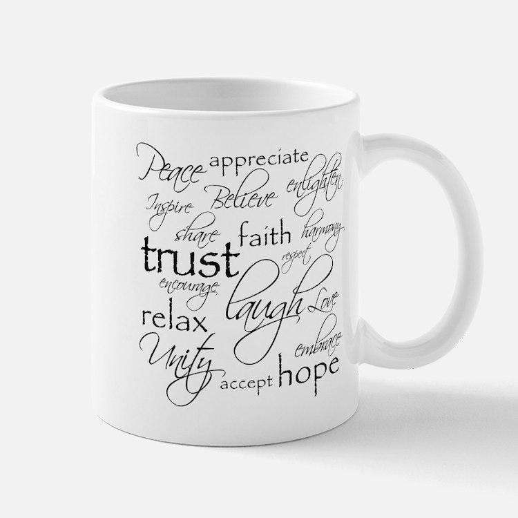 Positive Words - Mugs