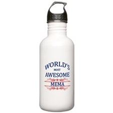 World's Most Awesome Mema Water Bottle