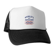 World's Most Awesome Husband Trucker Hat
