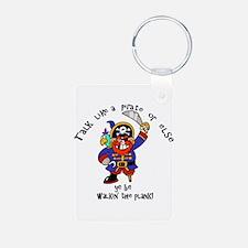 Peg Leg Pirate Keychains