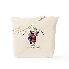 Peg Leg Pirate Tote Bag