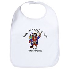 Peg Leg Pirate Bib