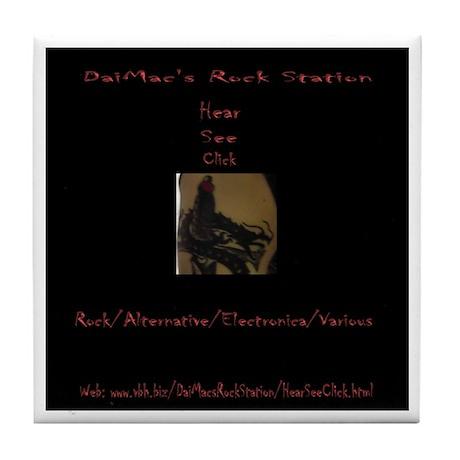 DaiMac's Rock Station Rokcin Coaster