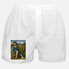 Giovanni Bellini - The Infant Bacchus Boxer Shorts