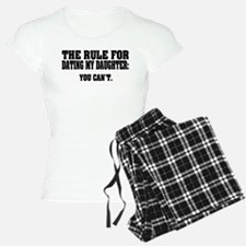 Rule For Dating My Daughter Pajamas