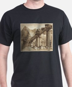 Giovanni Galliari - Egyptian Stage Design T-Shirt