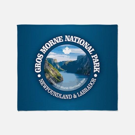 Gros Morne National Park Throw Blanket