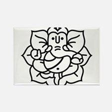 Ganesh Ganesa Ganapati 02_1c Rectangle Magnet