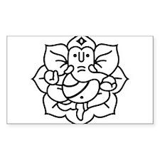 Ganesh Ganesa Ganapati 02_1c Decal