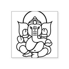 Ganesh Ganesa Ganapati 03_2c Sticker