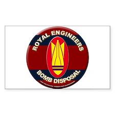 ROYAL ENGINEERS BOMB DISPOSAL Decal