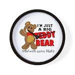 Big Teddy Bear Wall Clock