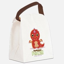 Cute Dragon Canvas Lunch Bag