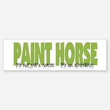 Paint Horse IT'S AN ADVENTURE Bumper Bumper Bumper Sticker