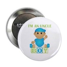 I'm An Uncle (TB:blk) Button