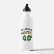 Life Begins At 40 Water Bottle