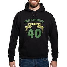 Life Begins At 40 Hoodie