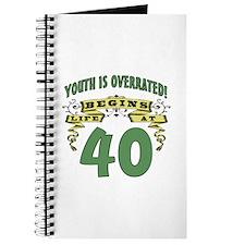 Life Begins At 40 Journal