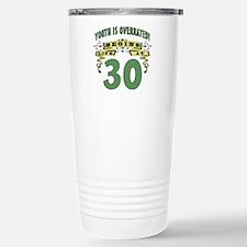 Life Begins At 30 Stainless Steel Travel Mug
