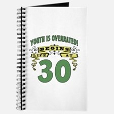 Life Begins At 30 Journal