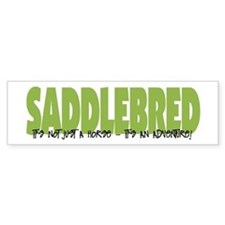 Saddlebred ADVENTURE Bumper Bumper Stickers