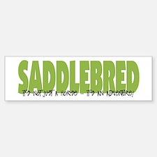 Saddlebred ADVENTURE Bumper Bumper Stickers