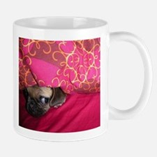 Sneaky Pug is Watching You Mug