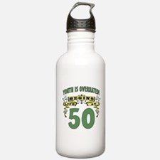 Life Begins At 50 Water Bottle