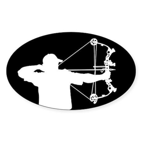 Bow Hunter (black version) Sticker