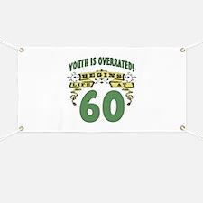 Life Begins At 60 Banner