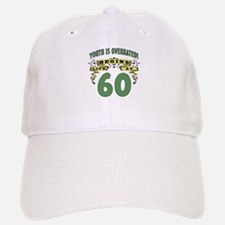 Life Begins At 60 Baseball Baseball Cap
