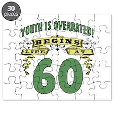 Life Begins At 60 Puzzle