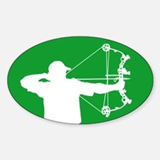 Bow Hunter (green version) Decal