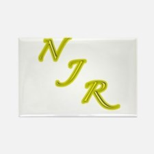 Night Journey Rewing Logo Rectangle Magnet