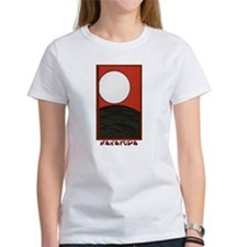 Hanafuda August Pampas with Full Moon T-Shirt