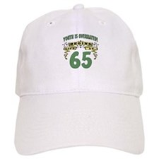Life Begins At 65 Baseball Cap