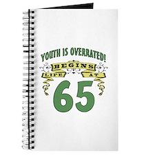 Life Begins At 65 Journal