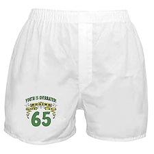 Life Begins At 65 Boxer Shorts