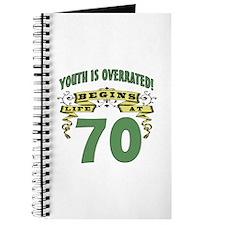Life Begins At 70 Journal