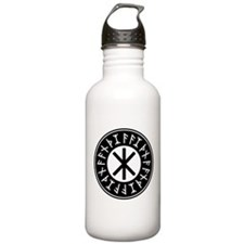 Odin's Protection No.1_1c Water Bottle