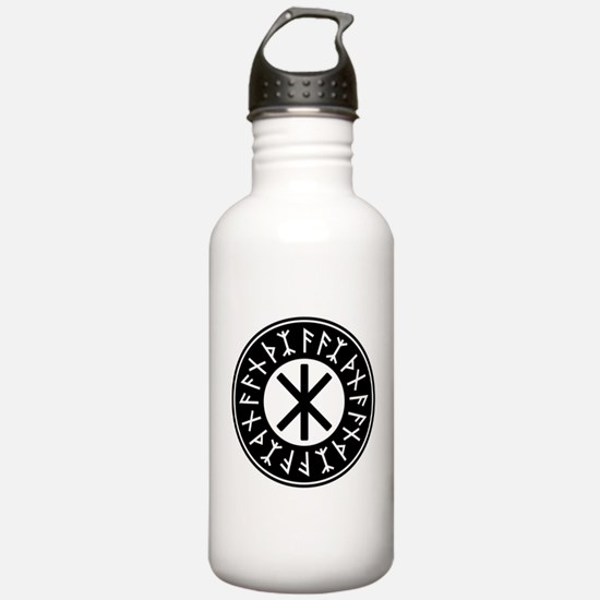 Odin's Protection No.1_2c Water Bottle
