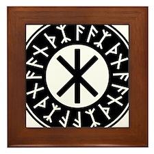Odin's Protection No.1_2c Framed Tile