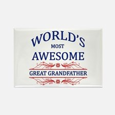 World's Most Awesome Great Grandfather Rectangle M