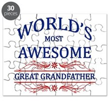 World's Most Awesome Great Grandfather Puzzle
