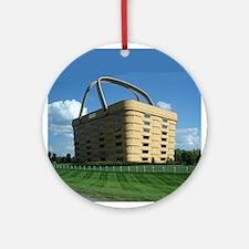 Longaberger Basket Ornament (Round)