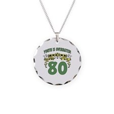 Life Begins At 80 Necklace