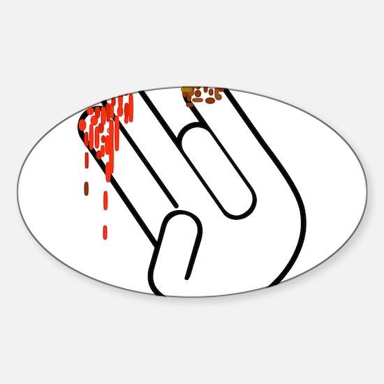 The Shocker Hand Decal