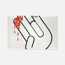The Shocker Hand Rectangle Magnet