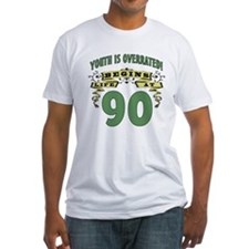 Life Begins At 90 Shirt